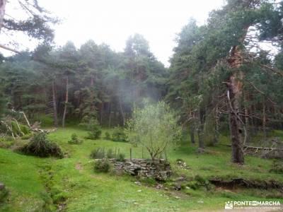 Peña Quemada-Ladera de Santuil; parque natural de las batuecas años luz viajes catarata del nervion